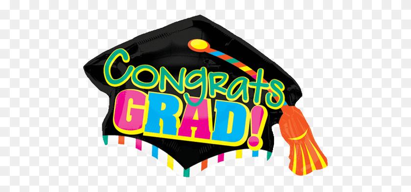 Shop Giant Congrats Grad Graduation Cap Balloon - Congrats PNG