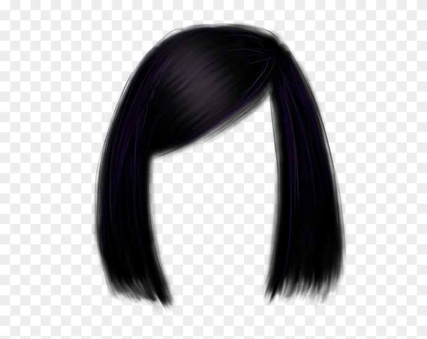 590x606 Short Hair Png Image - Long Hair PNG