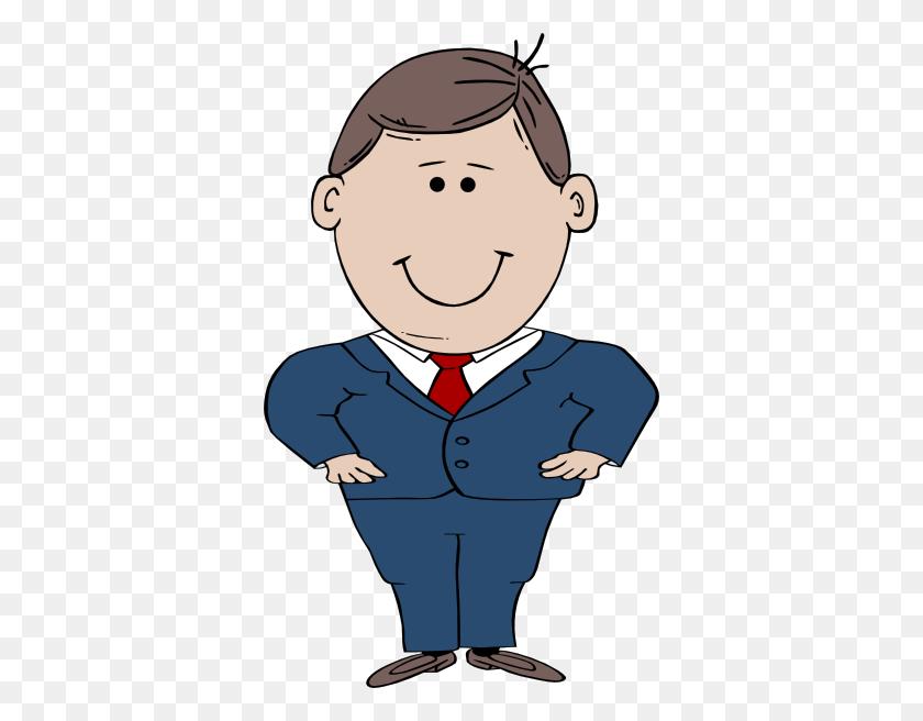 Short Man In Suit Clip Art - Person Clipart PNG