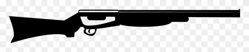 Shotgun Shell Firearm Double Barreled Shotgun - Shotgun Clipart