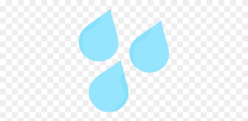 Sideways Rain Clip Art - Umbrella With Rain Clipart