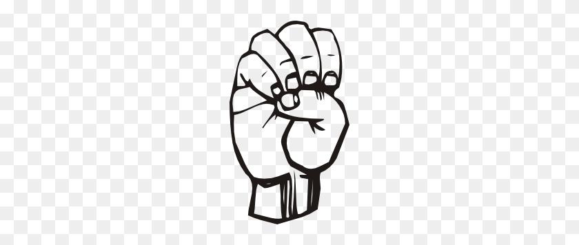 174x296 Sign Language E Clip Art - Asl Clip Art