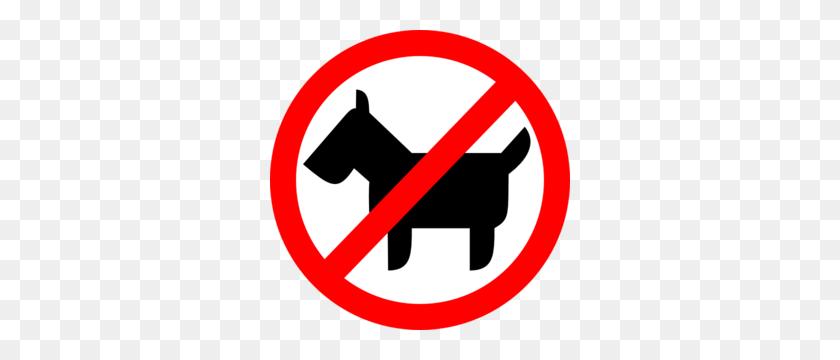 Sign No Animals Clip Art - Pets Clipart