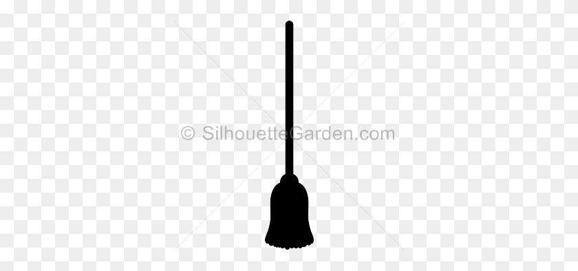 336x334 Silhouette Clip Art - Mop Clipart
