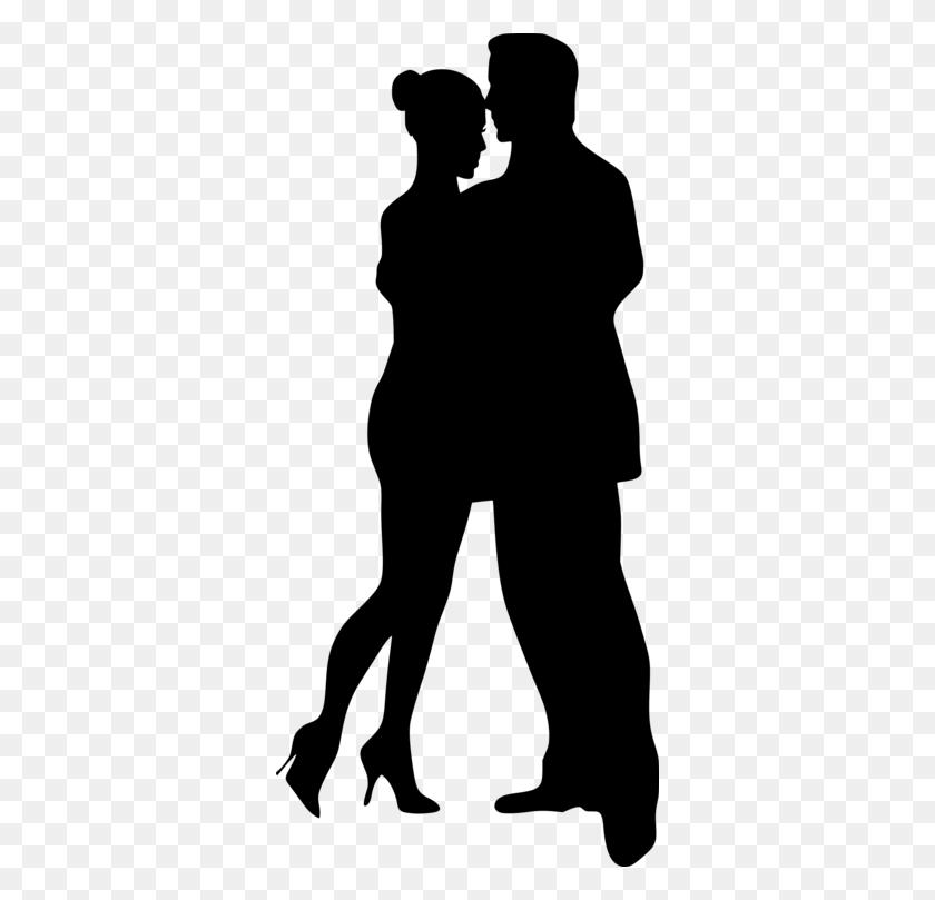 Silhouette Partner Dance Ballroom Dance Drawing - Swing Dance Clip Art