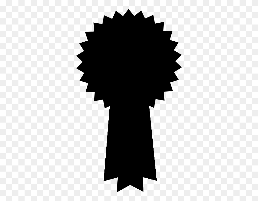 Silhouette Prize Ribbon Clip Art - Prize Box Clipart