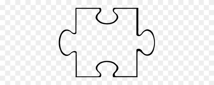 Silhouette Puzzle Pieces, Puzzle - Puzzle Piece PNG