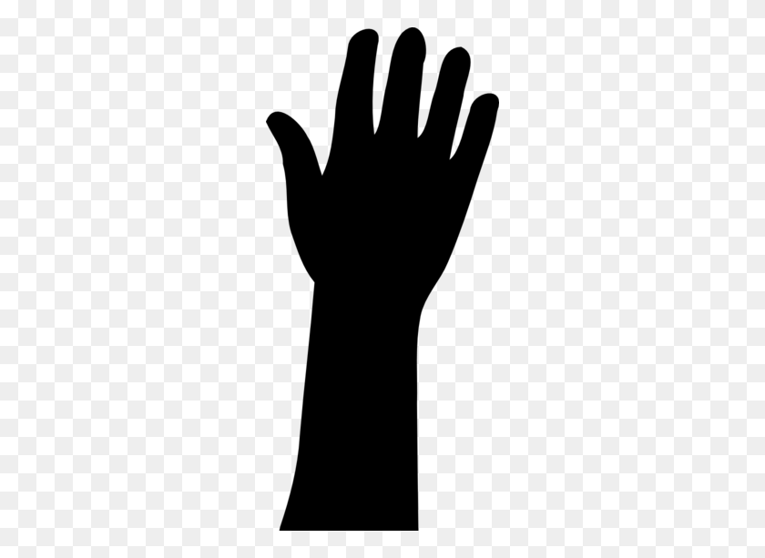 Silhouette Reaching Cliparts - Reaching Hands Clipart