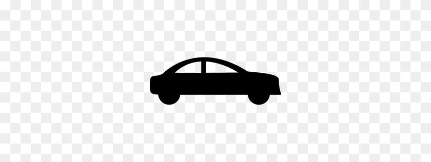 Silhouettes, Side View, Car, Silhouette, Black, Sedan - Car Silhouette PNG