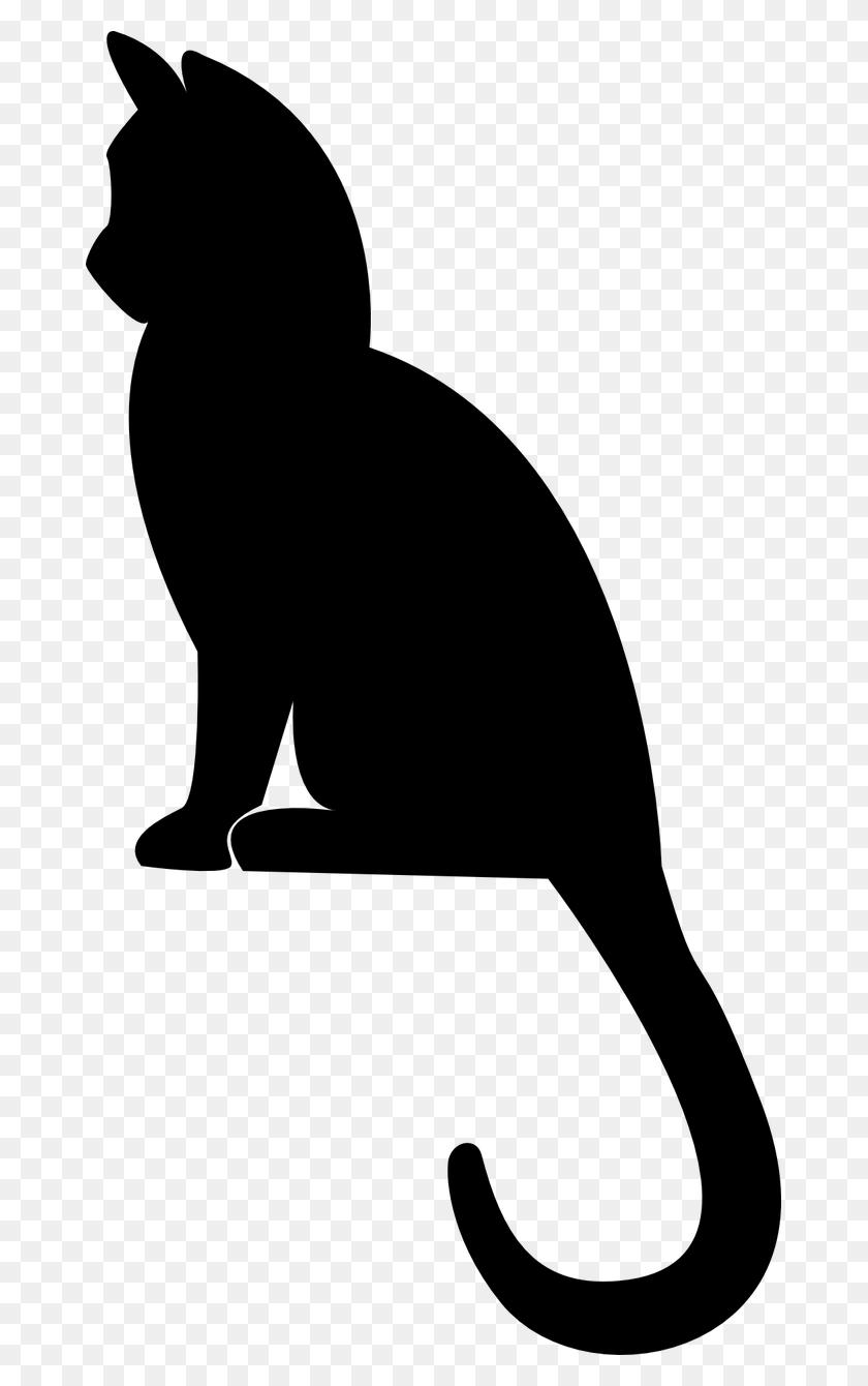Silhueta De Gato Png Png Image - Gato PNG