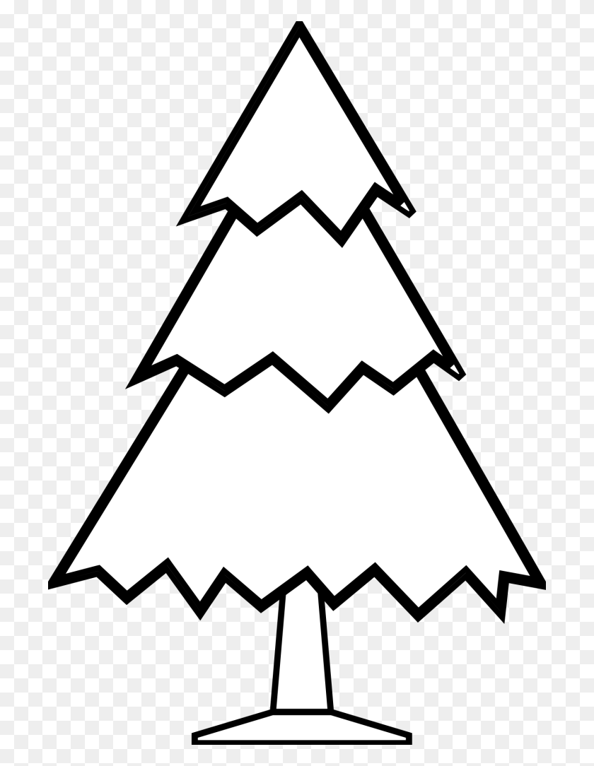 Simple Black And White Tree Drawing - Simple Tree Clipart