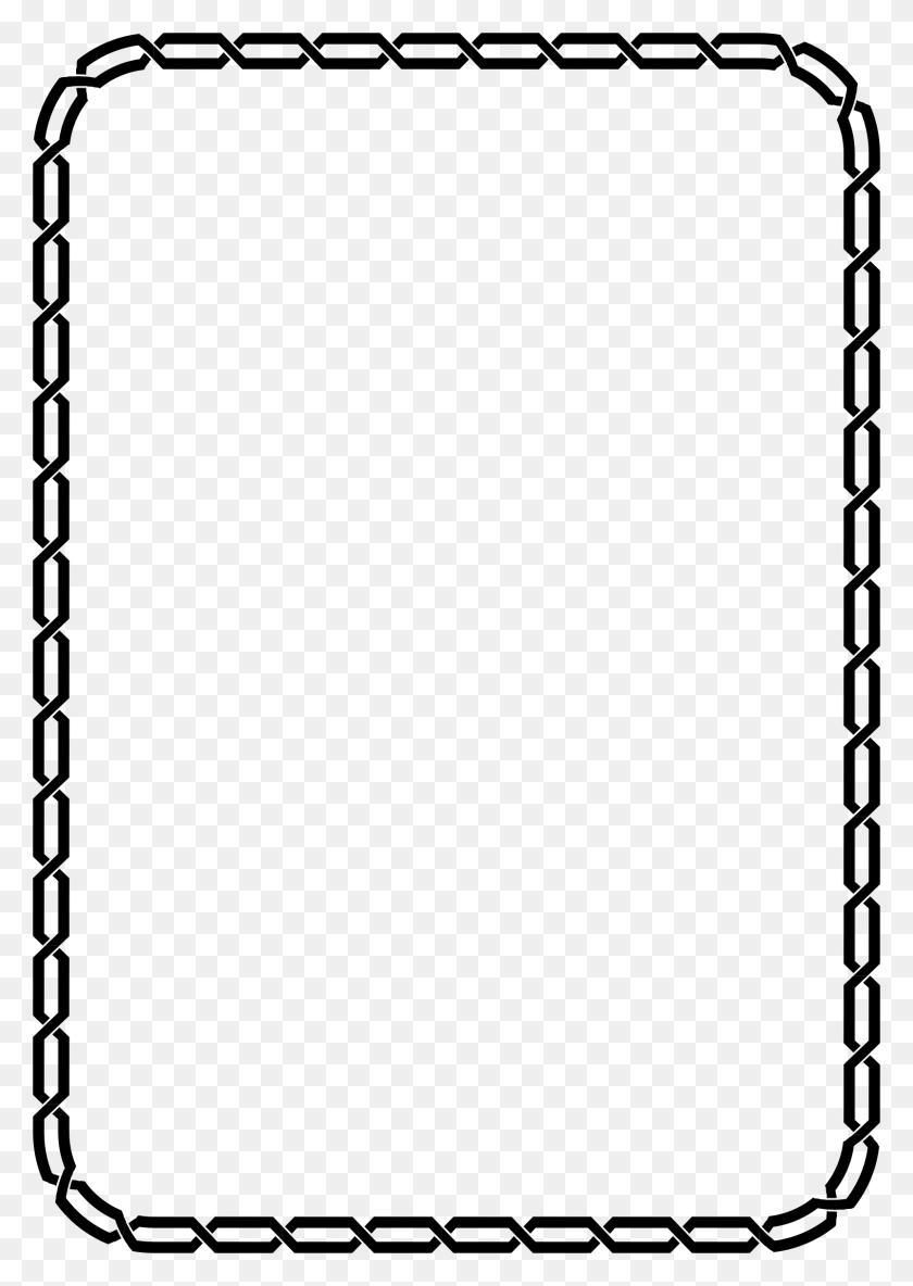 Simple Black Border Png, Border Clip Art Borders Free Clipart - Black Border PNG