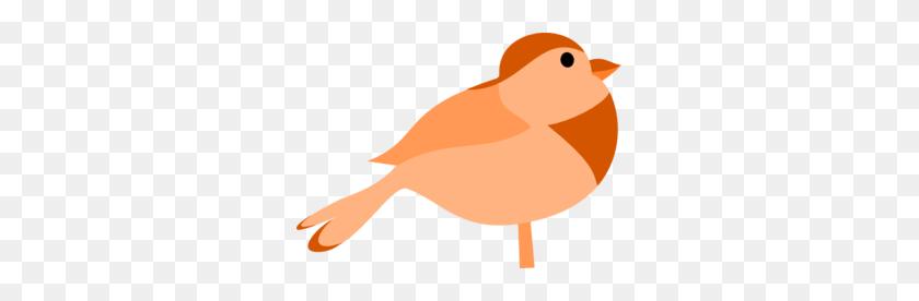 Simple Cartoon Bird Clip Art - Cartoon Bird PNG