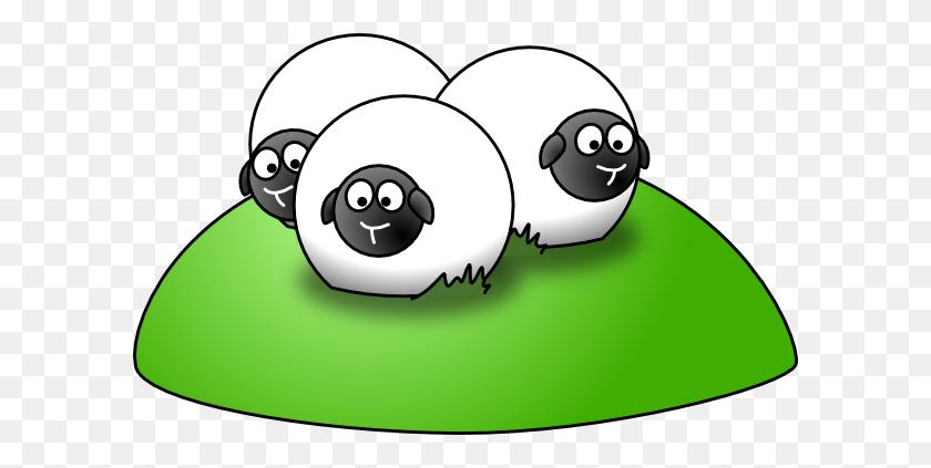 Simple Cartoon Sheep Png, Clip Art For Web - Sheep Clipart