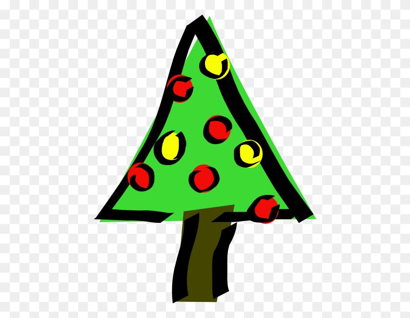 Simple Christmas Tree Clip Art - Simple Tree Clipart