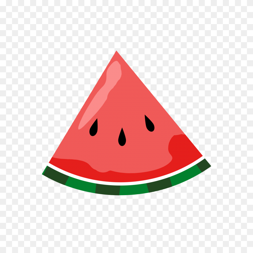 Simple Clipart Watermelon - Manger Scene Clipart