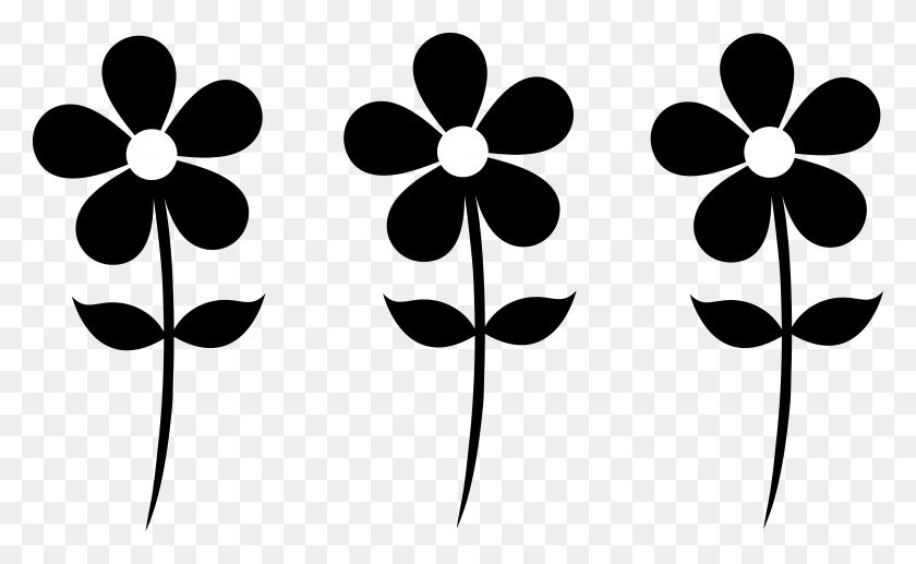 7747x4545 Simple Flower Clip Art - Free Floral Clipart