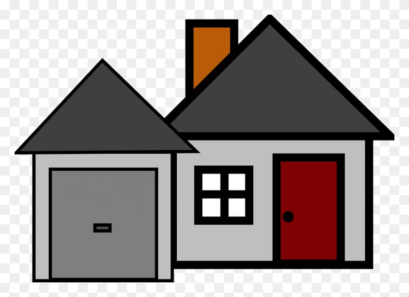 Simple Grey House Clip Art At Clker Com Vector Online Clipart - Simple House Clipart