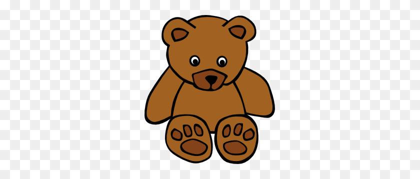 Simple Teddy Bear Clip Art Free Vector - Simple Christmas Clipart