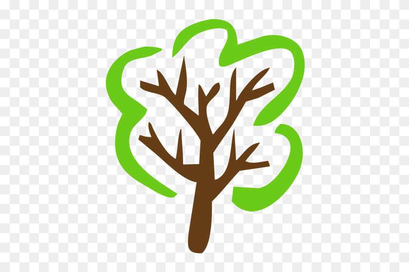 Simple Tree Clip Art - Simple PNG