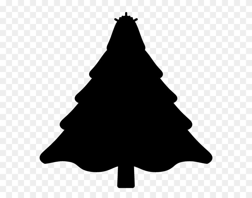 Simple Tree Silhouette Png, Stroke Tree Silhouette - Oak Tree Silhouette PNG