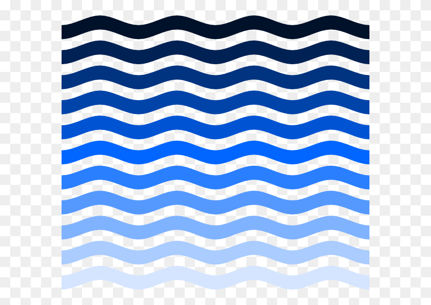 Simple Water Waves Clip Arts Download - Water Clipart PNG