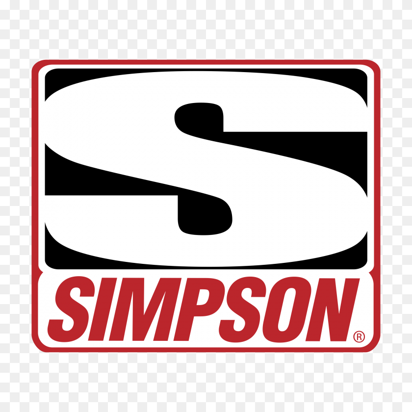 Simpson Racing Logo Png Transparent Vector - Racing PNG