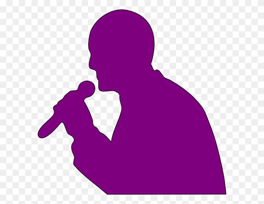 Singing Man Clip Art - People Singing Clipart