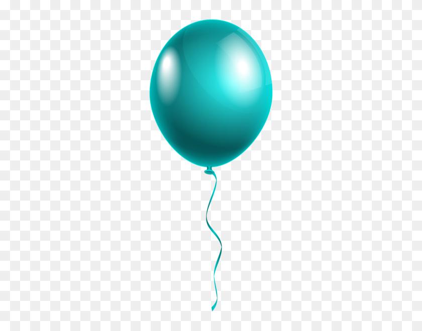 Single Modern Blue Balloon Png Clipart Gallery - Modern Border PNG
