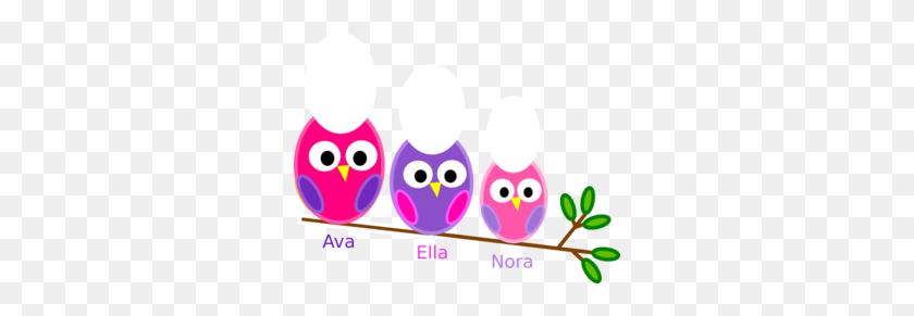 Sister Owls Clip Art - Sister Clip Art