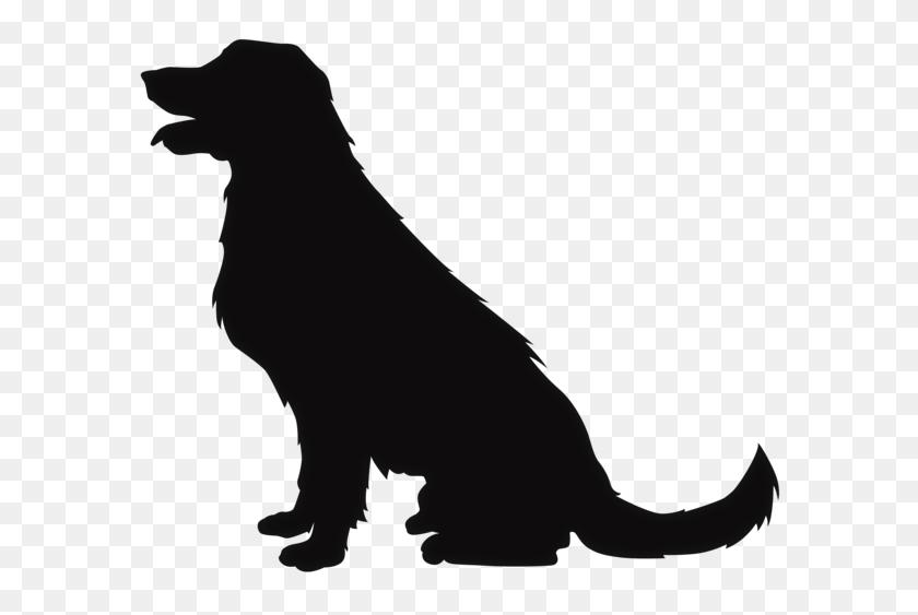 Sitting Dog Silhouette Clip Art Dog Cat Clip Art Pet - Sitting Dog Clipart