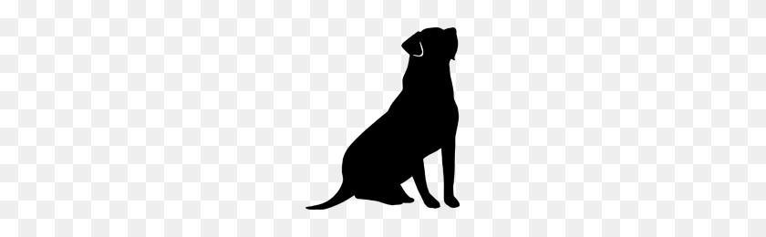 Sitting Dog Silhouette Lab Ltbgtsilhouetteltgt Clipart - Sitting Dog Clipart