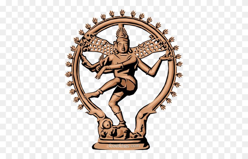 Siva Hinduism Royalty Free Vector Clip Art Illustration - Hindu Clipart