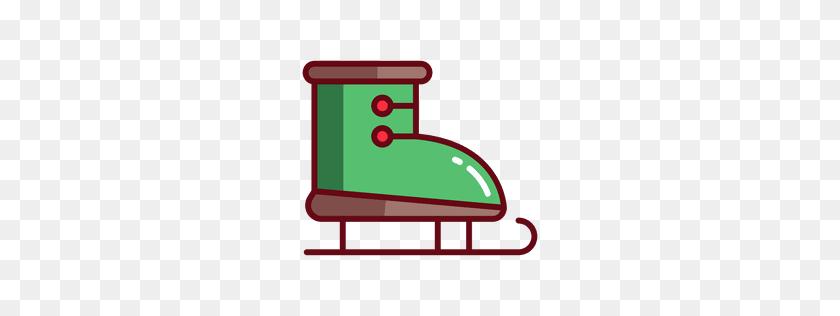 Skate T Shirt Design - Ice Skating Rink Clipart