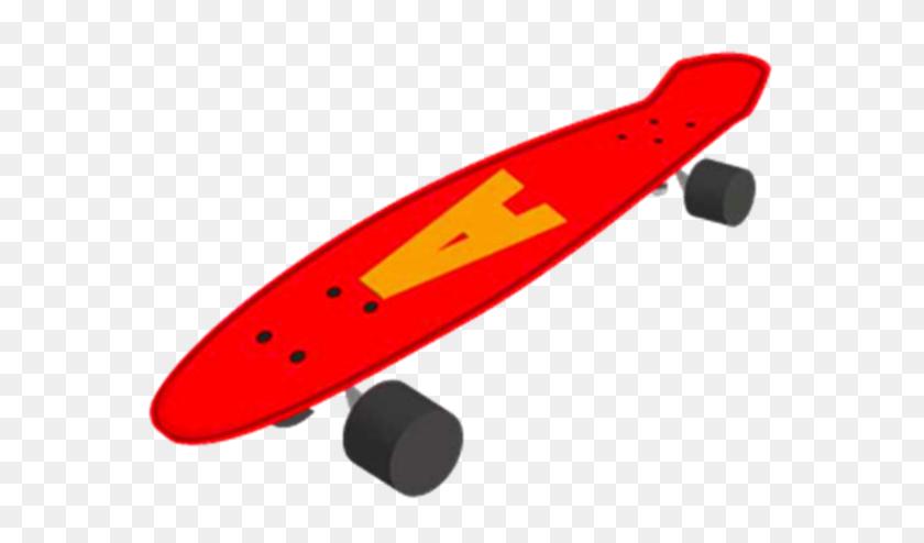 600x434 Skateboard Free Images - Longboard Clipart