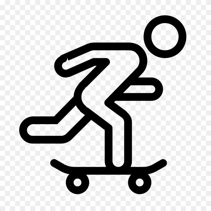 Skateboarding Icon - Skate PNG