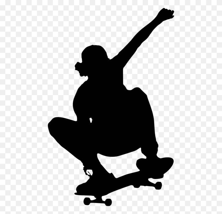 Skateboarding Trick Ice Skating Roller Skating - Roller Skate Clip Art