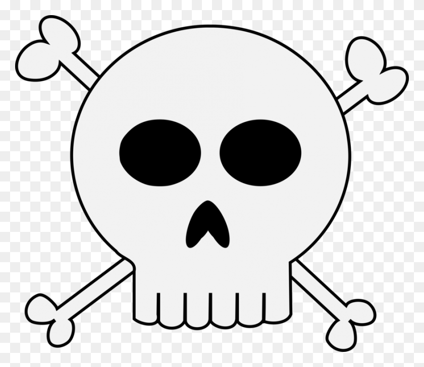 Skull And Crossbones Human Skull Symbolism Skull And Bones Drawing - Skull And Bones Clipart