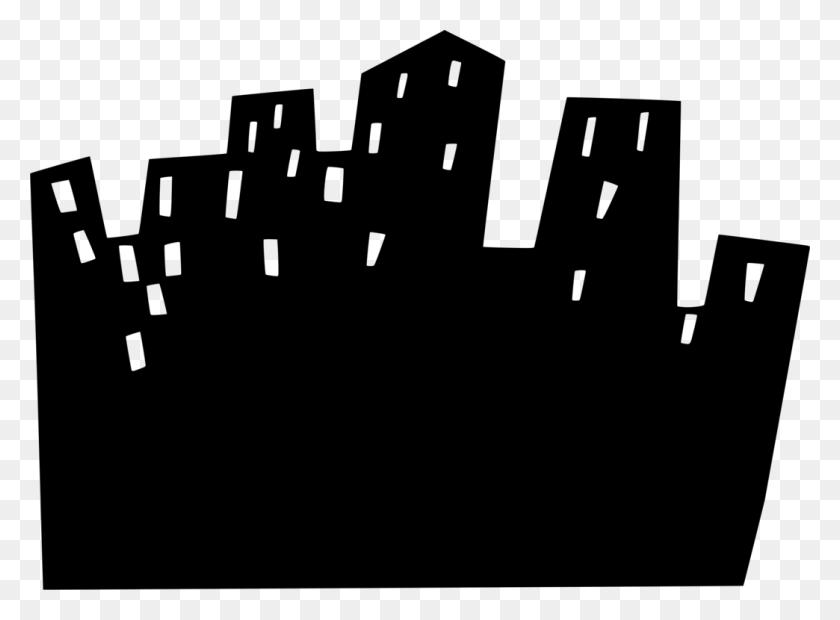 Skyscraper Building Cartoon Logo - Skyscraper Clipart
