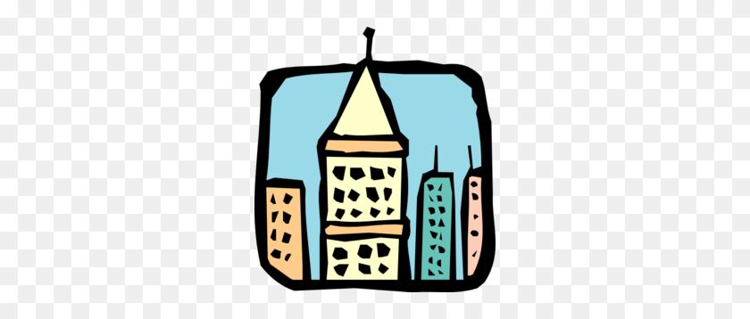Skyscraper Roofs Clip Art - Skyscraper Clipart