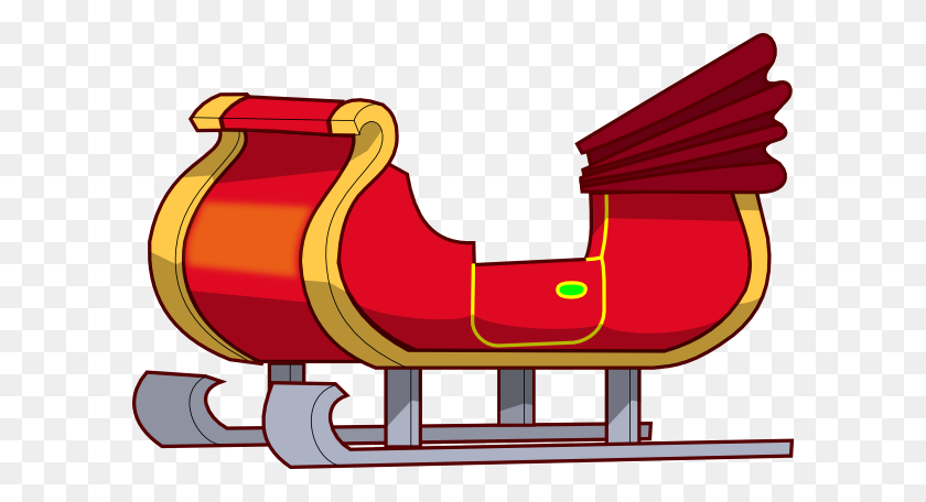 Sleigh Clipart Sleigh Clip Art - Clipart Santa Sleigh And Reindeer