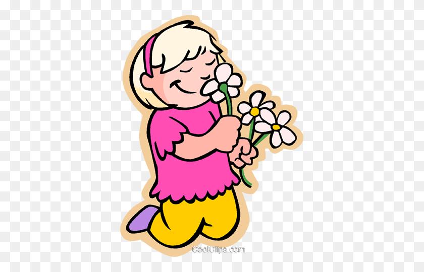 Smell Flowers Clipart Clip Art Images - Senses Clipart