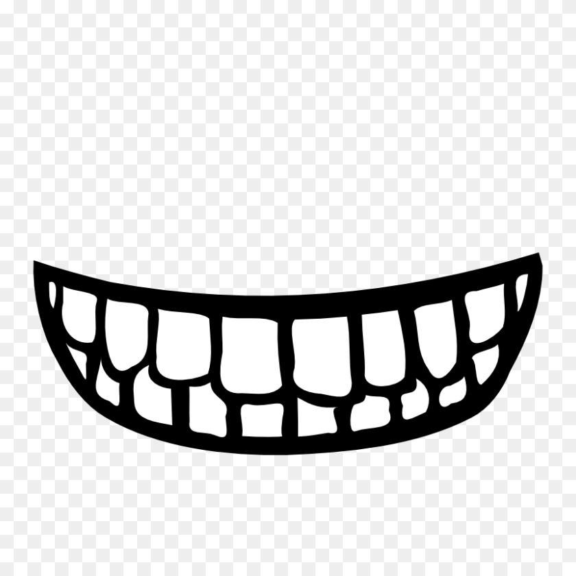 800x800 Smile Dental Clipart - Free Dental Clipart