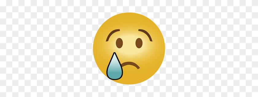 256x256 Smile Emoticon Emoji - Sad Emoji PNG