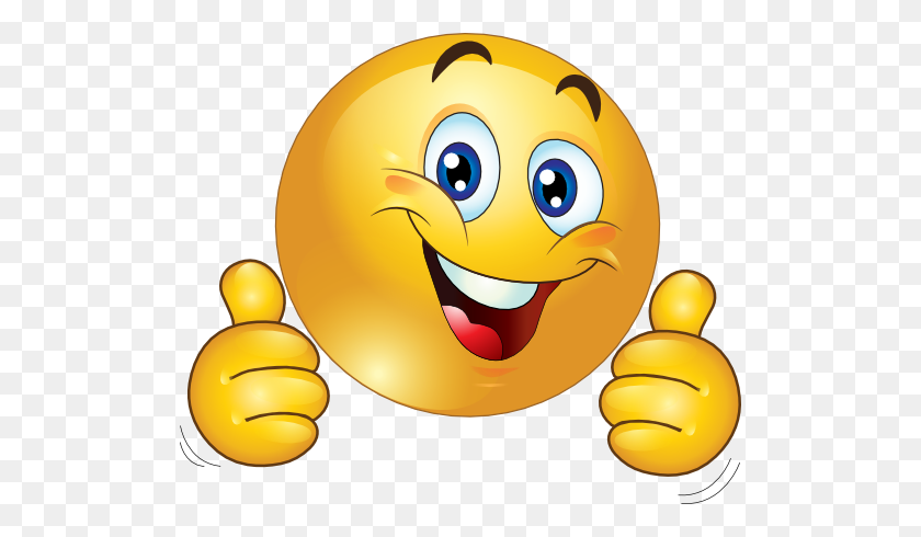 Smiley Face Clip Art Thumbs Up Clipart Two Thumbs Up Happy Smiley - Self Control Clipart