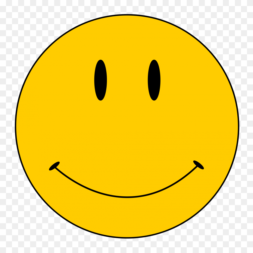 Smiley Face Copyright - Sad Face Clipart Transparent