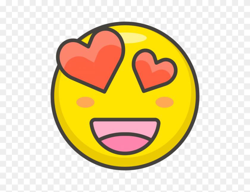 Smiling Face With Heart Eyes Emoji Png Transparent Emoji - Smiling Emoji PNG
