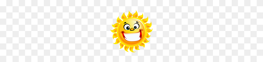 Smiling Sun Transparent Png Clip Art - Smiling Sun Clipart