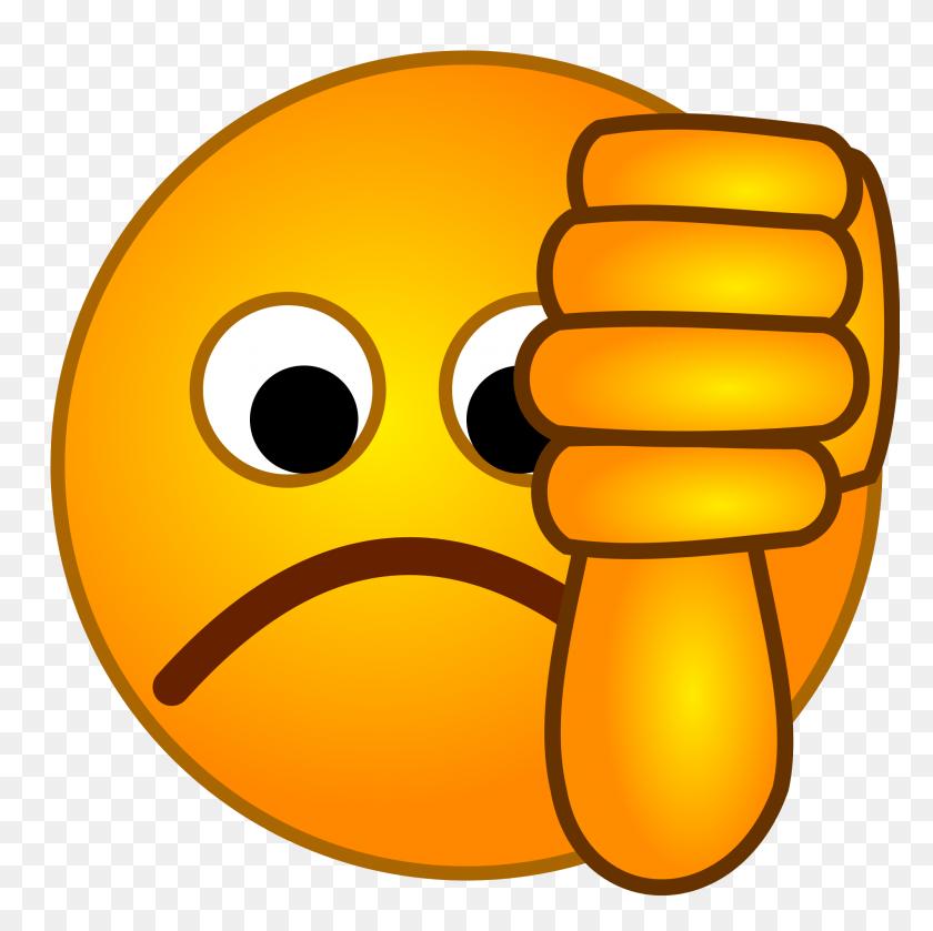 Smirc Thumbsdown - Thumbs Down PNG