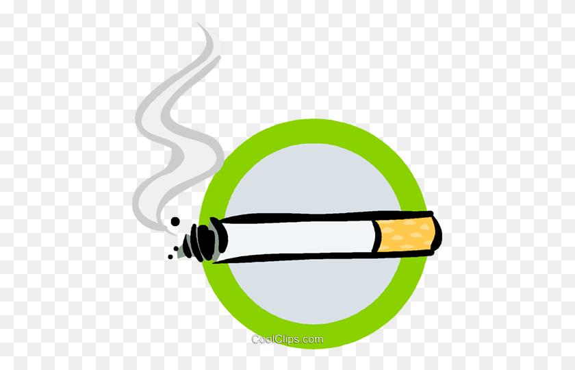 Extinguished Cigarette Vector Clip Art Image